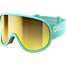 POC Retina Big Clarity Goggles Tin Blue/Spektris Gold